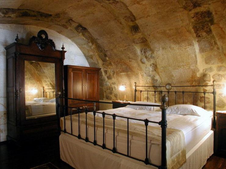 Hotel das cavernas na Turquia 12