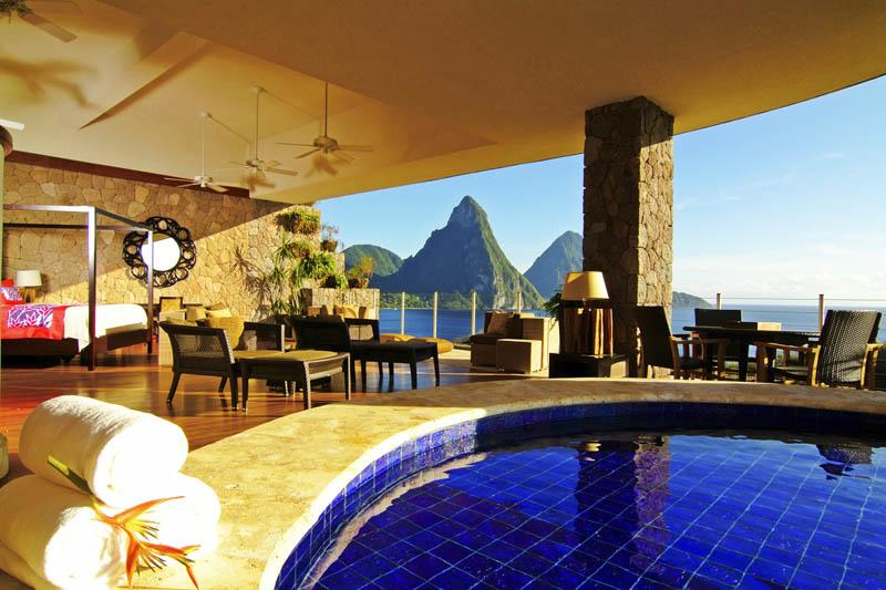 Jade Mountain Resort, um local onde seus sonhos infinitos dormem 03