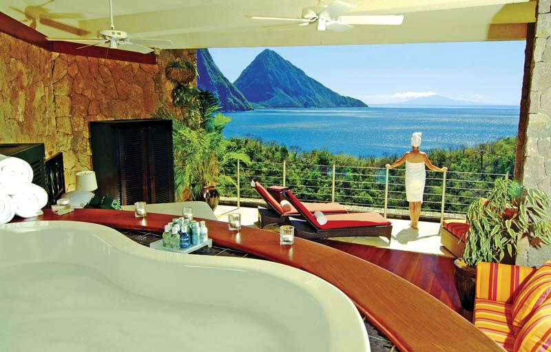 Jade Mountain Resort, um local onde seus sonhos infinitos dormem 04