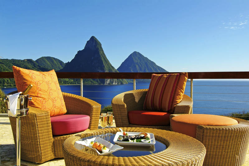 Jade Mountain Resort, um local onde seus sonhos infinitos dormem 05