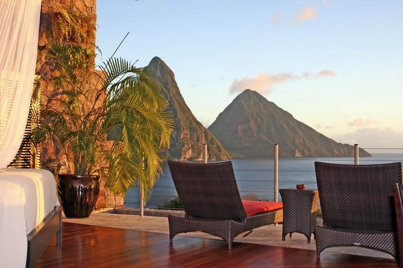 Jade Mountain Resort, um local onde seus sonhos infinitos dormem 07