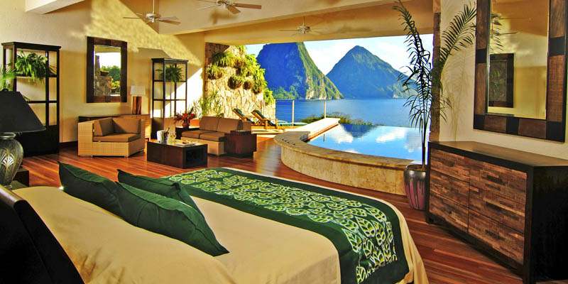 Jade Mountain Resort, um local onde seus sonhos infinitos dormem 08