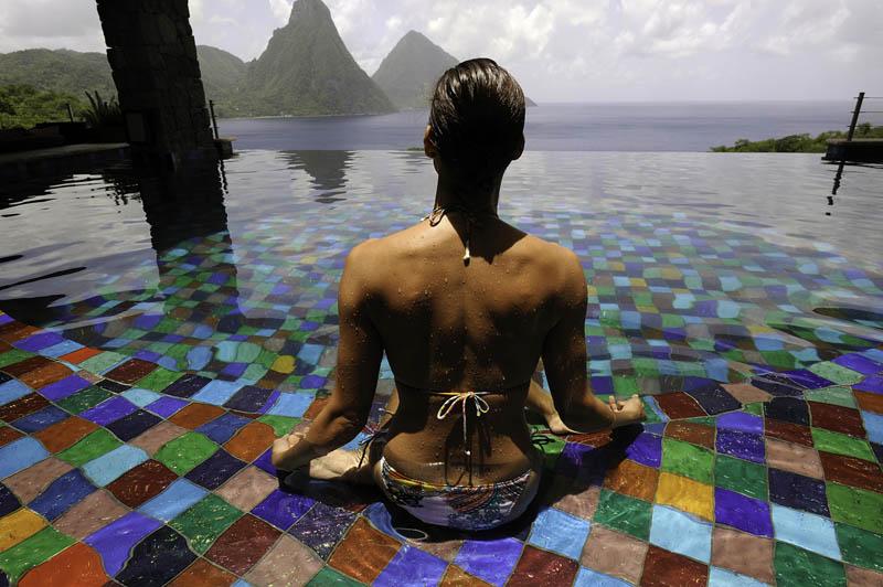 Jade Mountain Resort, um local onde seus sonhos infinitos dormem 13