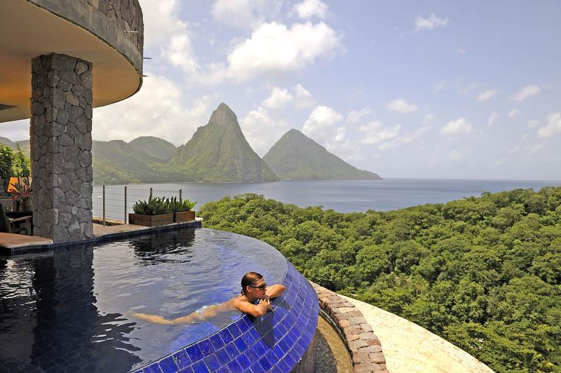 Jade Mountain Resort, um local onde seus sonhos infinitos dormem 14