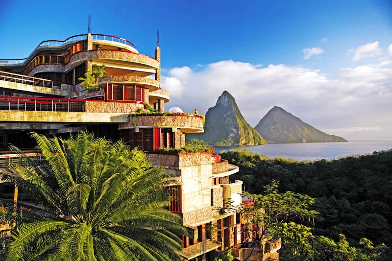 Jade Mountain Resort, um local onde seus sonhos infinitos dormem 15