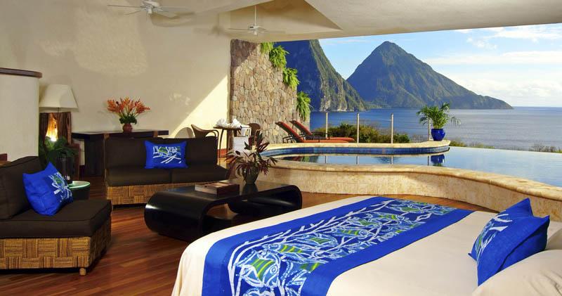 Jade Mountain Resort, um local onde seus sonhos infinitos dormem 16