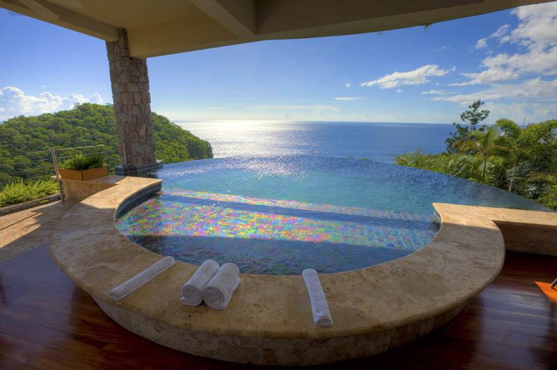 Jade Mountain Resort, um local onde seus sonhos infinitos dormem 17