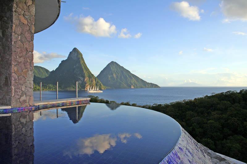 Jade Mountain Resort, um local onde seus sonhos infinitos dormem 18