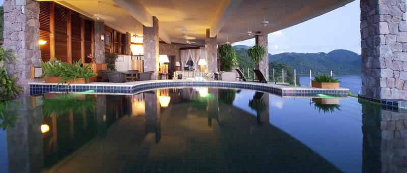 Jade Mountain Resort, um local onde seus sonhos infinitos dormem 20