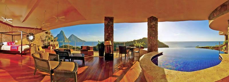 Jade Mountain Resort, um local onde seus sonhos infinitos dormem 21