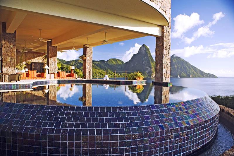 Jade Mountain Resort, um local onde seus sonhos infinitos dormem 22