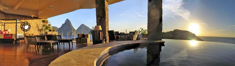 Jade Mountain Resort, um local onde seus sonhos infinitos dormem 23
