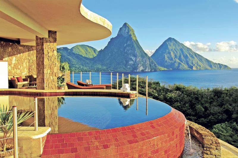 Jade Mountain Resort, um local onde seus sonhos infinitos dormem 24