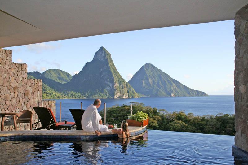 Jade Mountain Resort, um local onde seus sonhos infinitos dormem 25