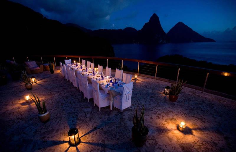 Jade Mountain Resort, um local onde seus sonhos infinitos dormem 28