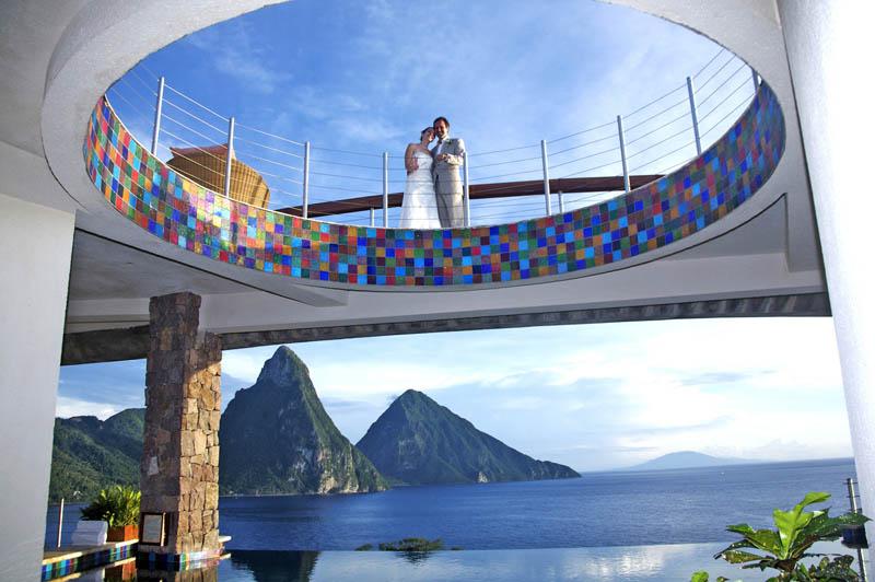 Jade Mountain Resort, um local onde seus sonhos infinitos dormem 30