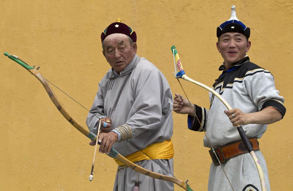 Naadam, os três jogos masculinos da Mongólia em 2012 07