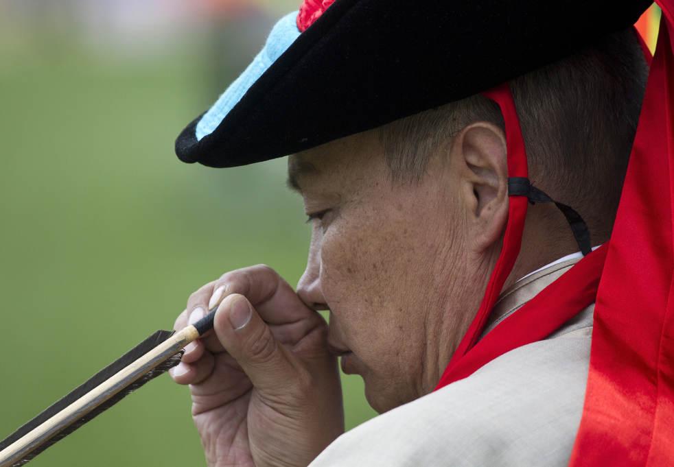 Naadam, os três jogos masculinos da Mongólia em 2012 09