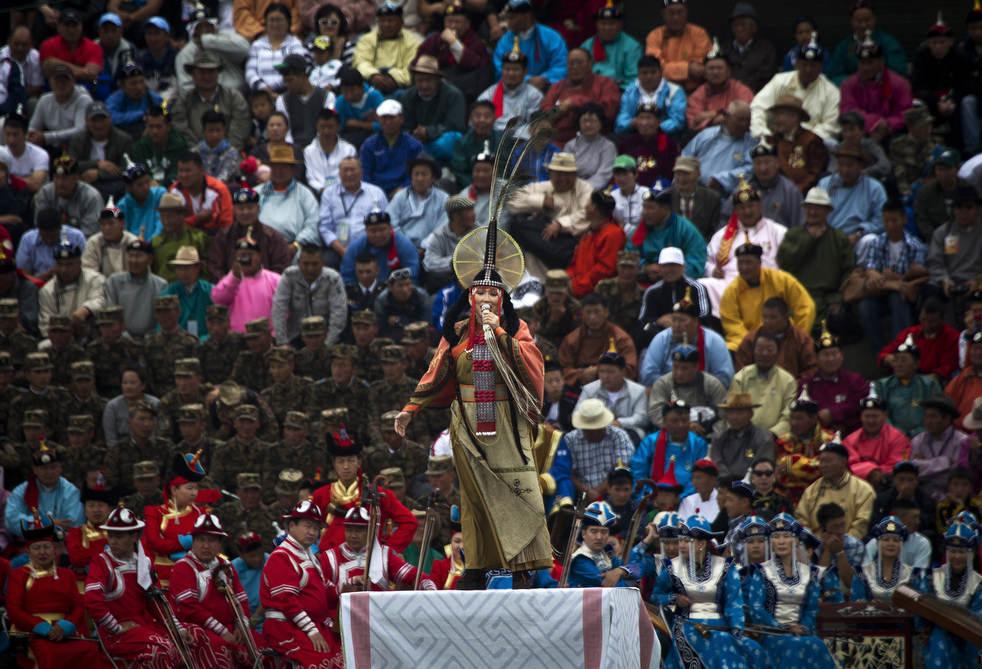 Naadam, os três jogos masculinos da Mongólia em 2012 15