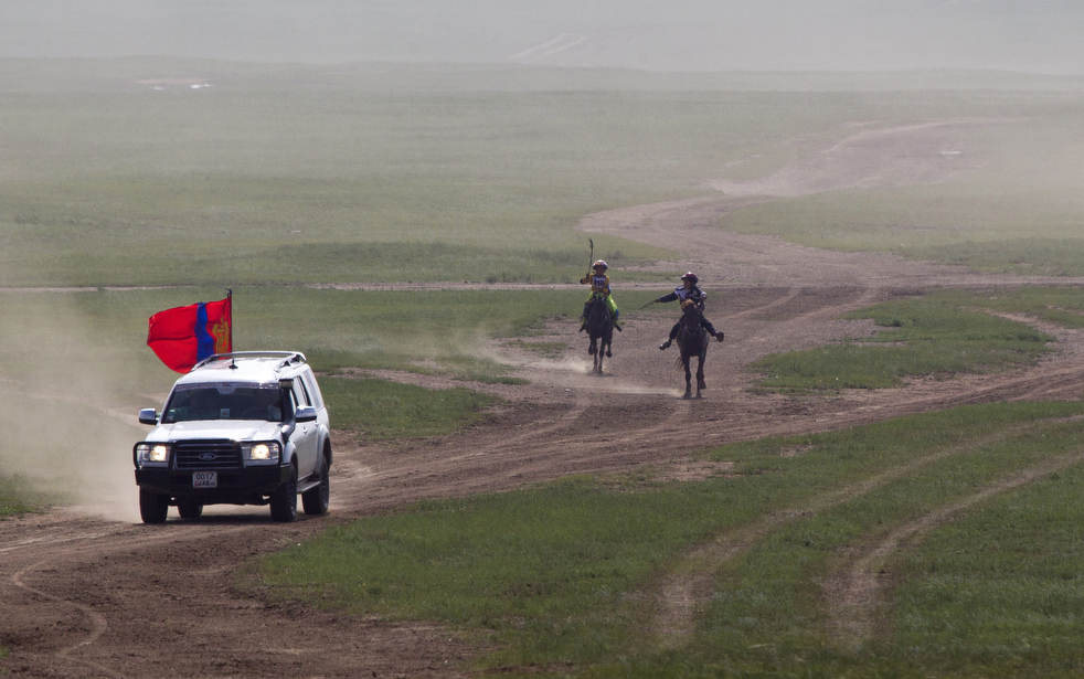 Naadam, os três jogos masculinos da Mongólia em 2012 20