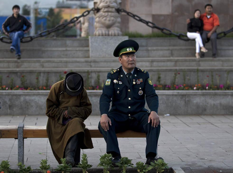 Naadam, os três jogos masculinos da Mongólia em 2012 21