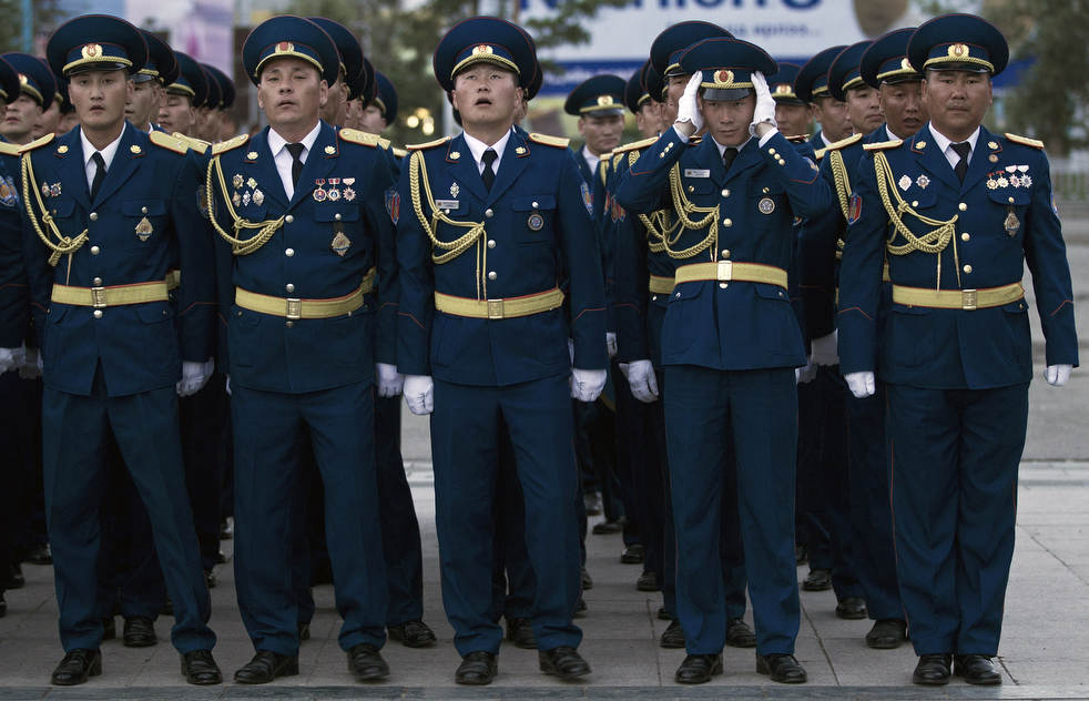 Naadam, os três jogos masculinos da Mongólia em 2012 22