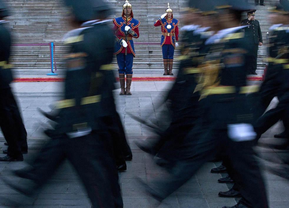 Naadam, os três jogos masculinos da Mongólia em 2012 24