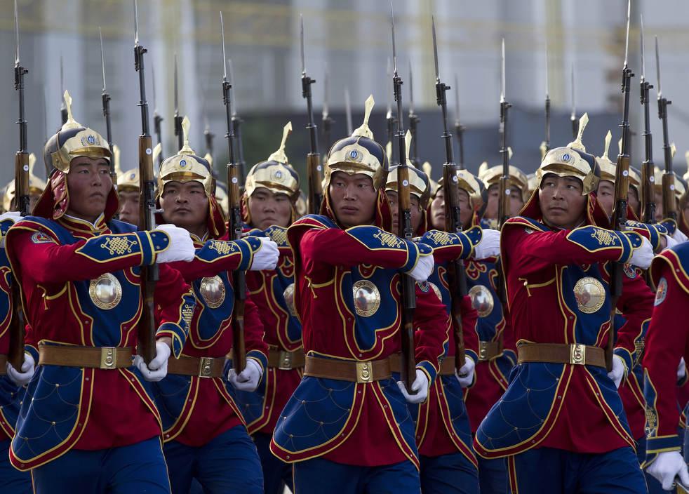 Naadam, os três jogos masculinos da Mongólia em 2012 26