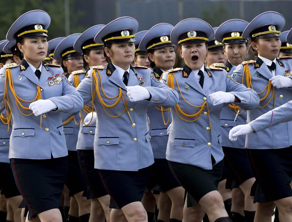 Naadam, os três jogos masculinos da Mongólia em 2012 27