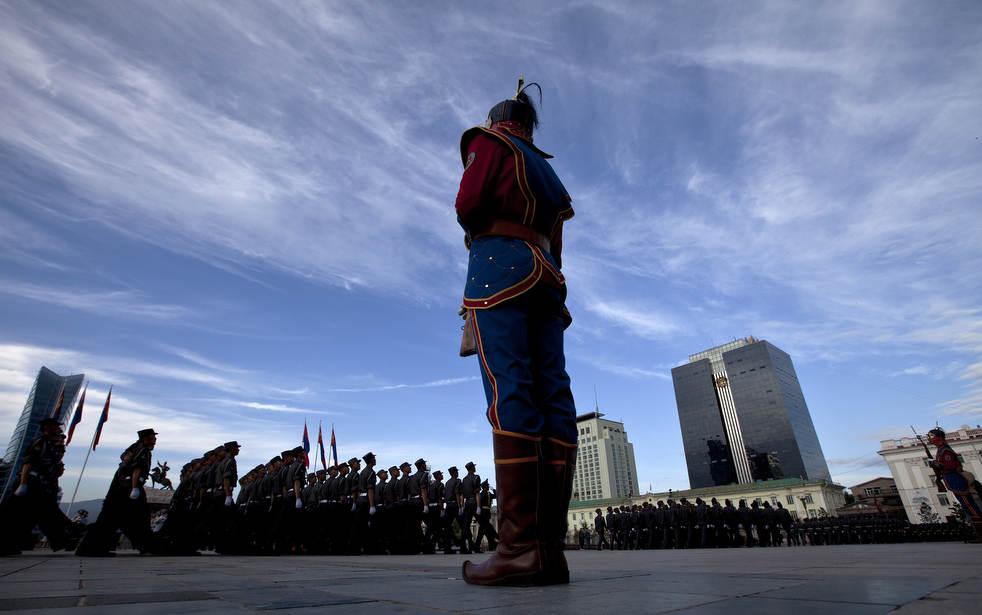 Naadam, os três jogos masculinos da Mongólia em 2012 29