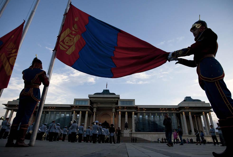 Naadam, os três jogos masculinos da Mongólia em 2012 30