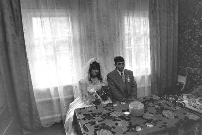 Um casamento tradicional no interior da Rússia 14