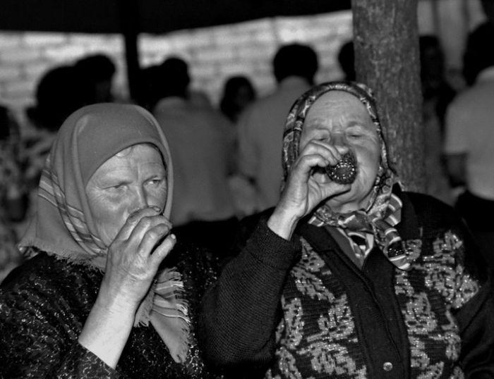 Um casamento tradicional no interior da Rússia 17