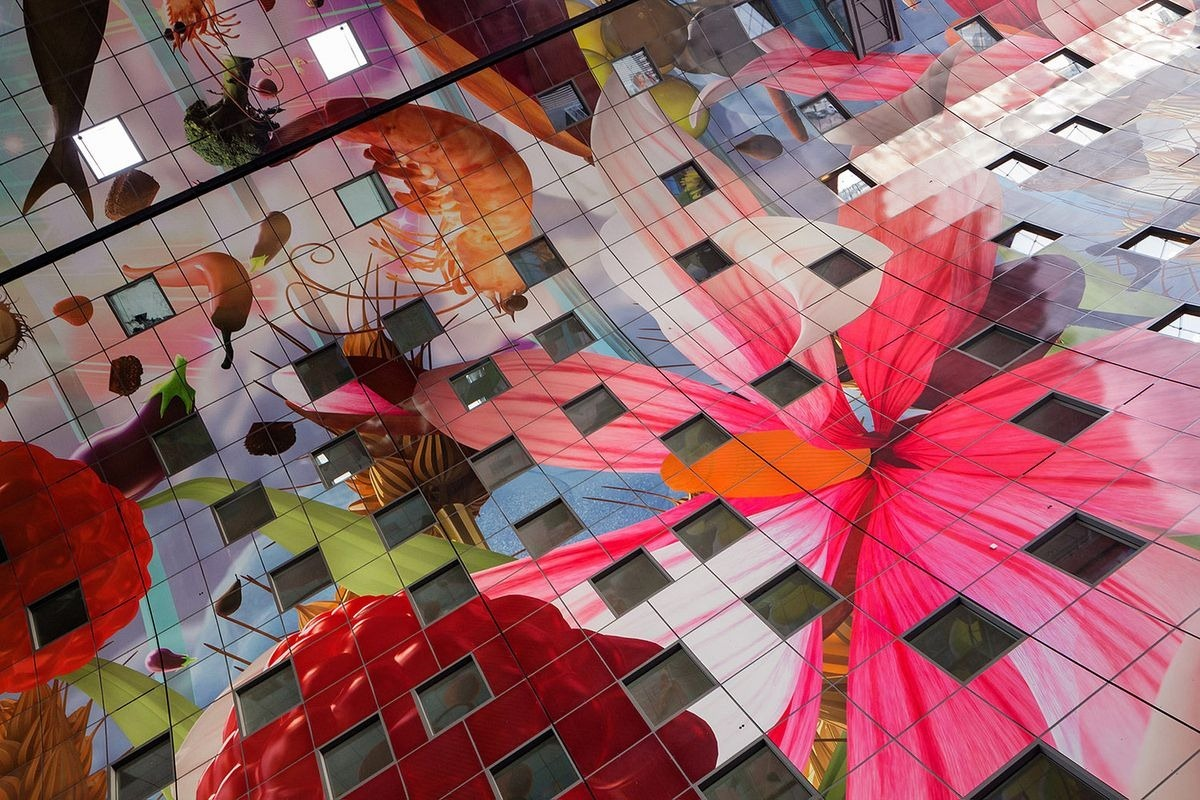 Markthal: O bonito Mercado Municipal de Roterd� 06