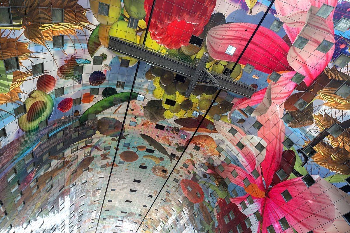 Markthal: O bonito Mercado Municipal de Roterdã 08