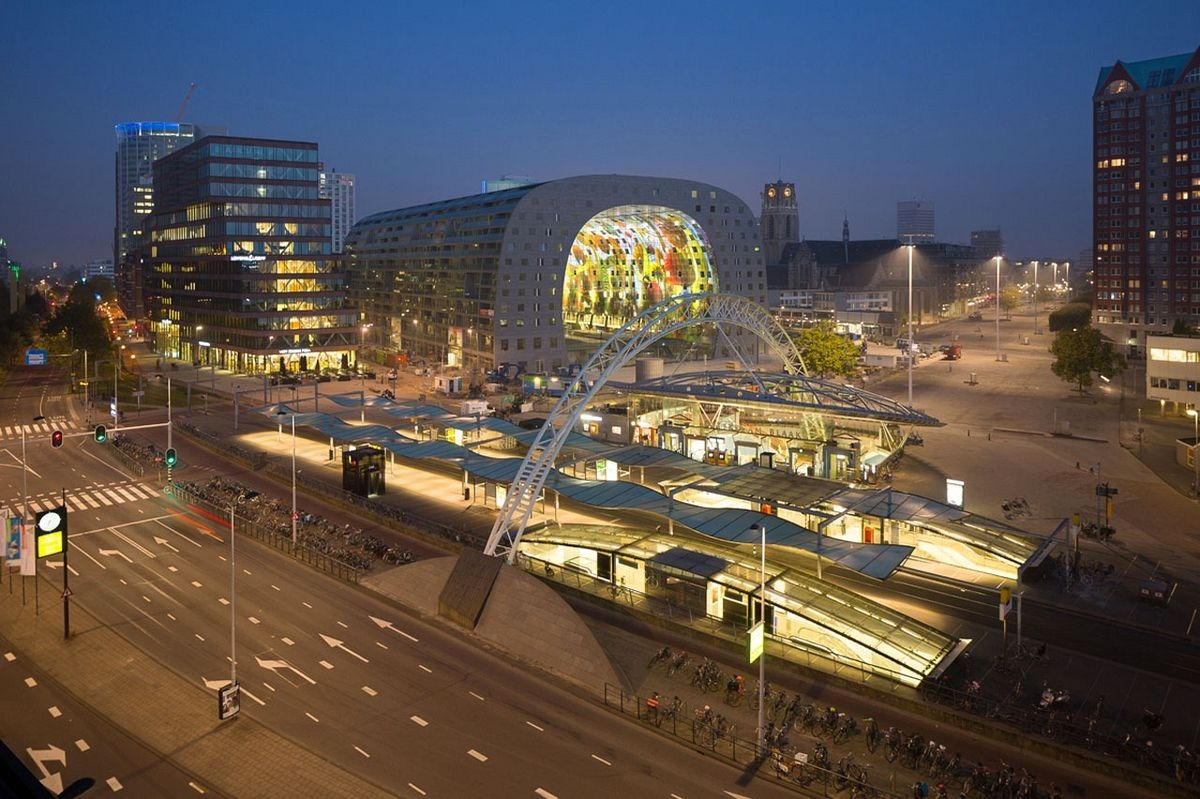 Markthal: O bonito Mercado Municipal de Roterdã 12