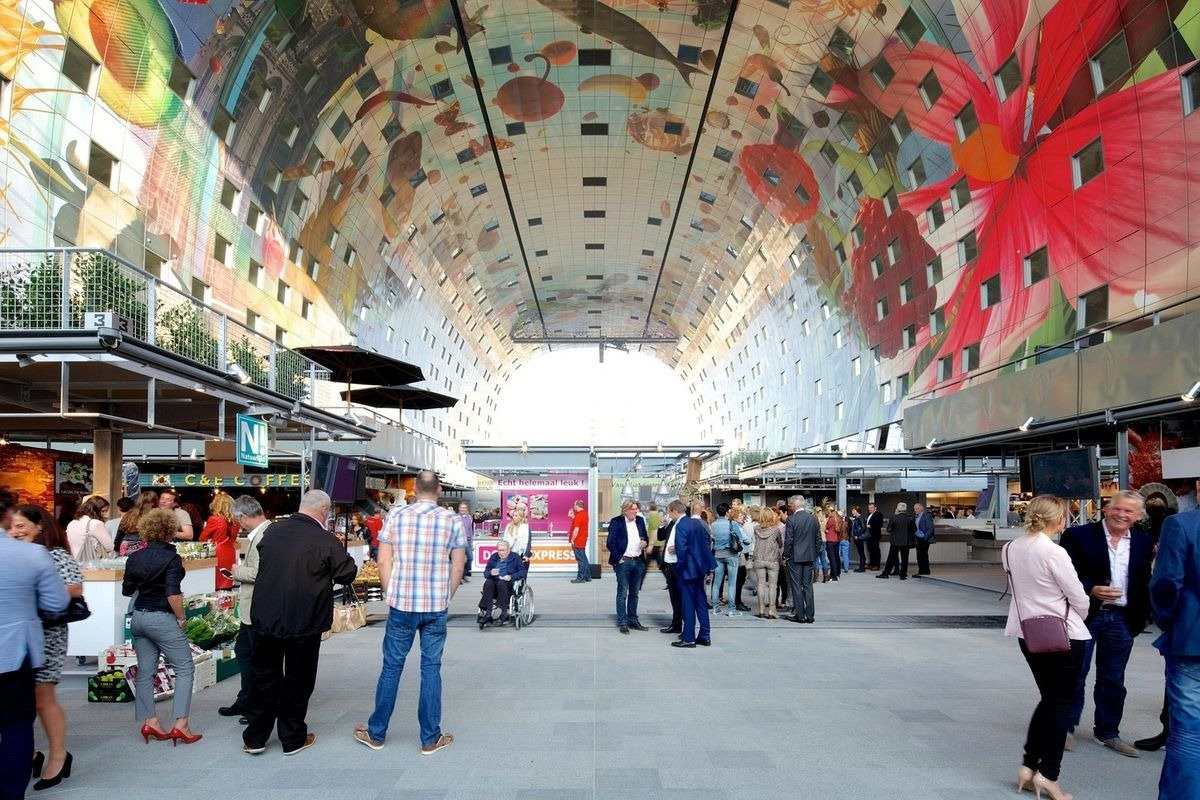 Markthal: O bonito Mercado Municipal de Roterdã 14