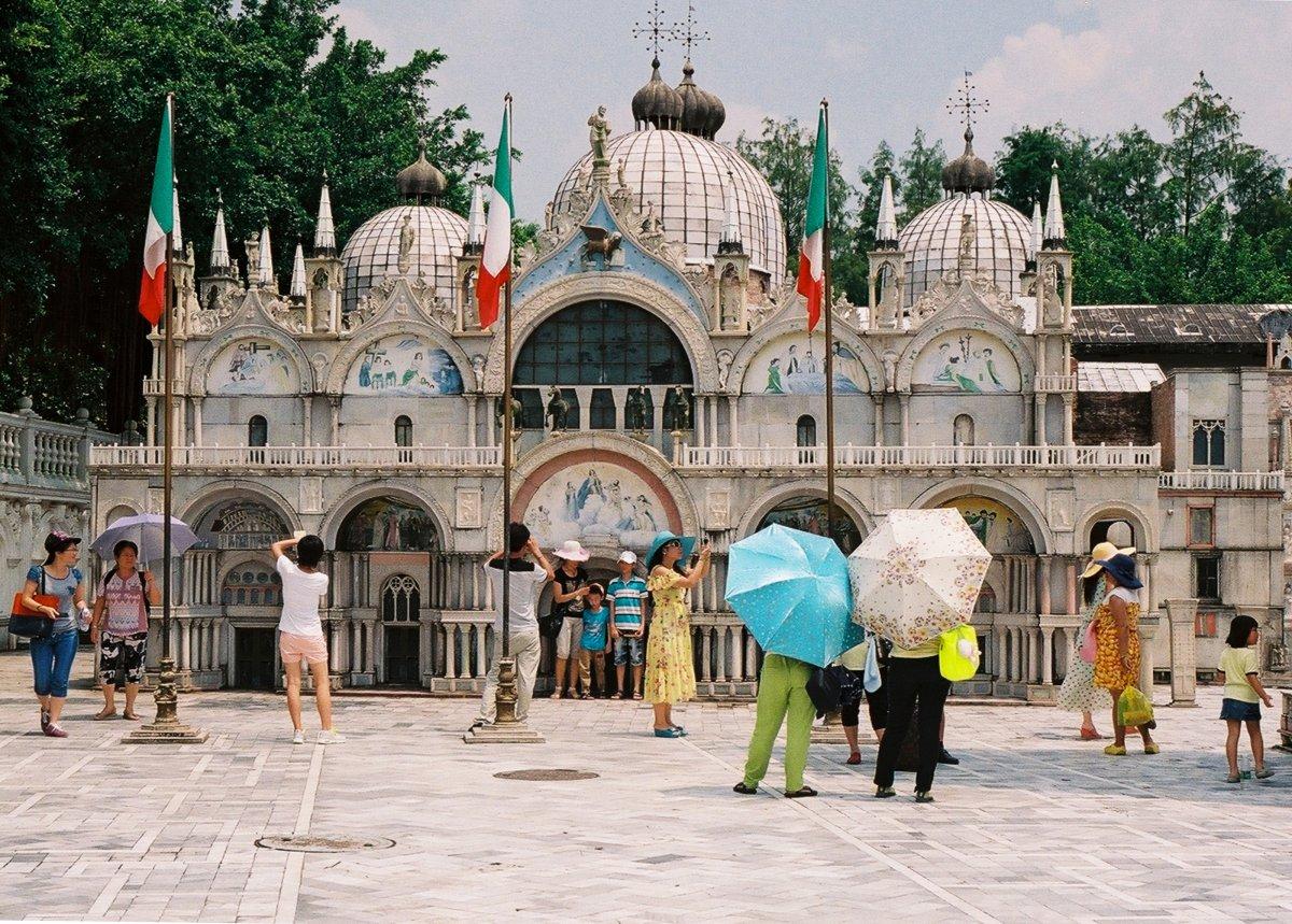 23 fotos do parque temático chinês cheio de monumentos mundiais 02
