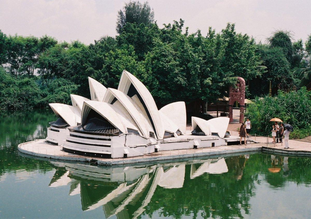 23 fotos do parque temático chinês cheio de monumentos mundiais 06
