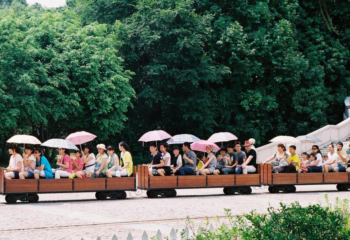 23 fotos do parque temático chinês cheio de monumentos mundiais 09
