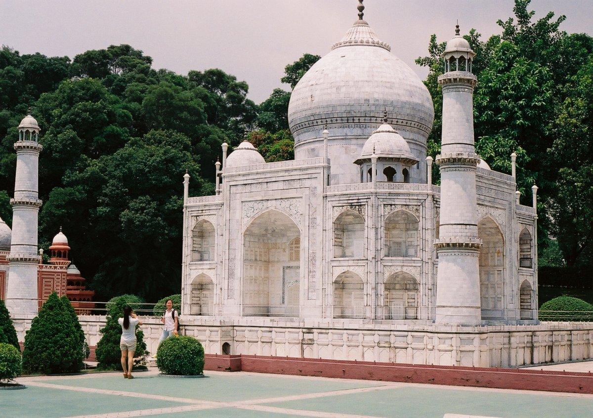 23 fotos do parque temático chinês cheio de monumentos mundiais 15