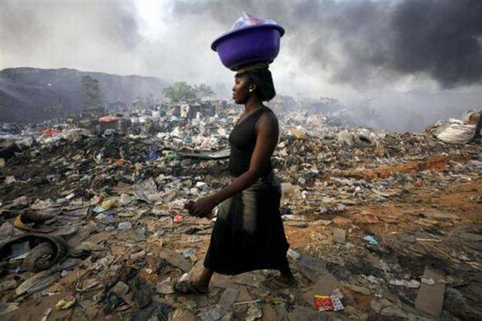 A poluição do lixo ao redor do mundo 02