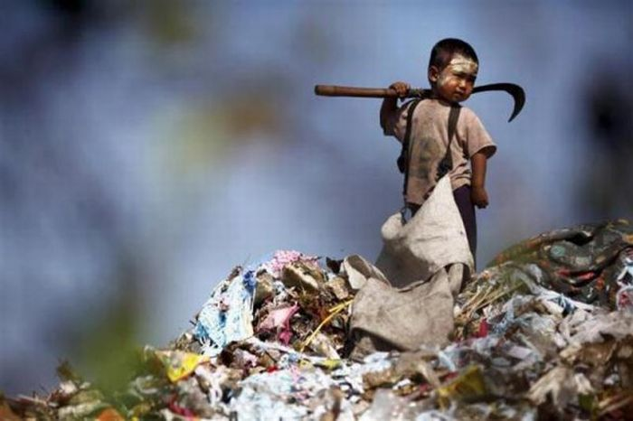 A poluição do lixo ao redor do mundo 07