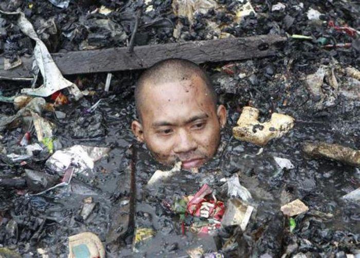 A poluição do lixo ao redor do mundo 14