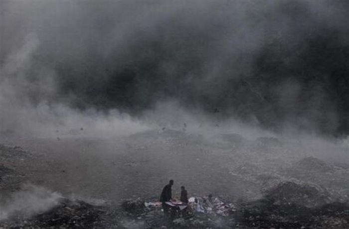 A poluição do lixo ao redor do mundo 15