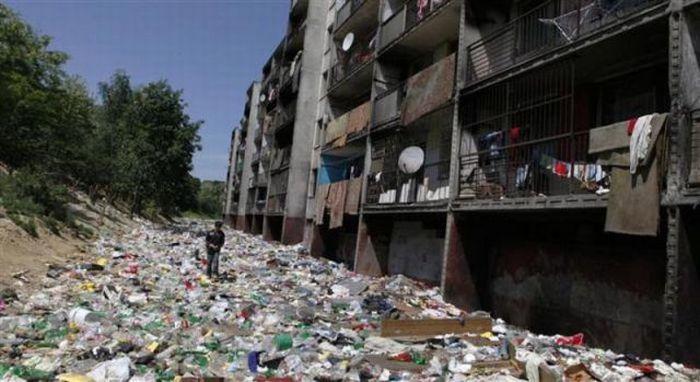 A polui��o do lixo ao redor do mundo 18