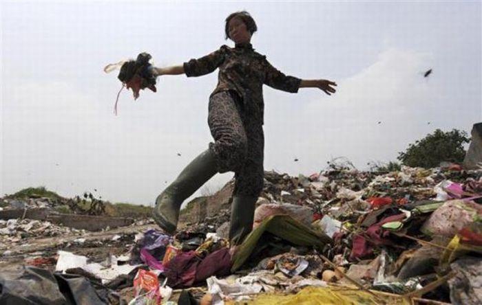 A poluição do lixo ao redor do mundo 19