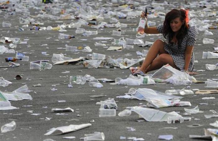 A poluição do lixo ao redor do mundo 23