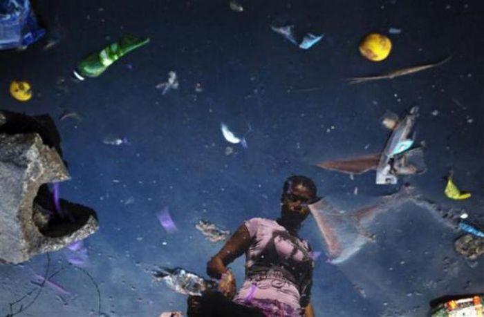 A poluição do lixo ao redor do mundo 25