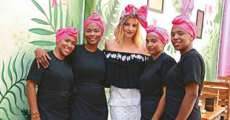 Inauguram um restaurante no pátio de um presídio feminino colombiano
